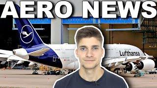 Erster LUFTHANSA A380 in NEUER LACKIERUNG! AeroNews