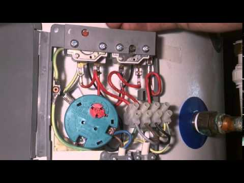 hqdefault how to change a megaflo immersion heater (thermostat) youtube cotherm thermostat wiring diagram at couponss.co