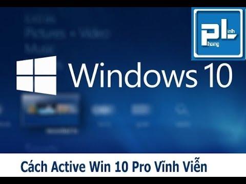 Active Windows 10 Pro bản quyền kĩ thuật số Laptop Phong Linh