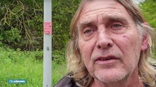 Interview met wandelaar die doodgestoken slachtoffers in Heerlen vond