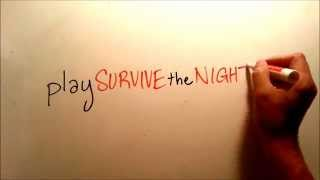 Gambar cover SURVIVE the NIGHT party-battle card game basics: classically animated