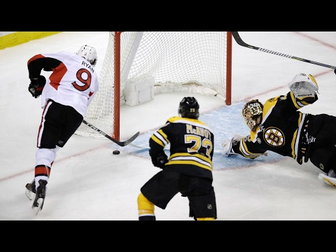 Anderson blanks Bruins, Ryan scores lone goal for Senators to take 3-1 lead