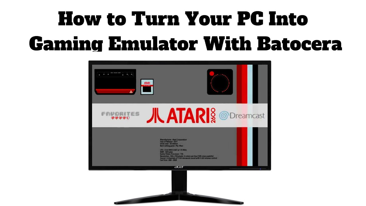 How to Turn Your PC Into Gaming Emulator With Batocera