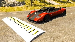 Spike Strip Testing 17 - BeamNG.Drive Car Accident