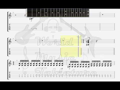 Die Ärzte   Schrei nach Liebe mit Orchester  GUITAR 2 TAB