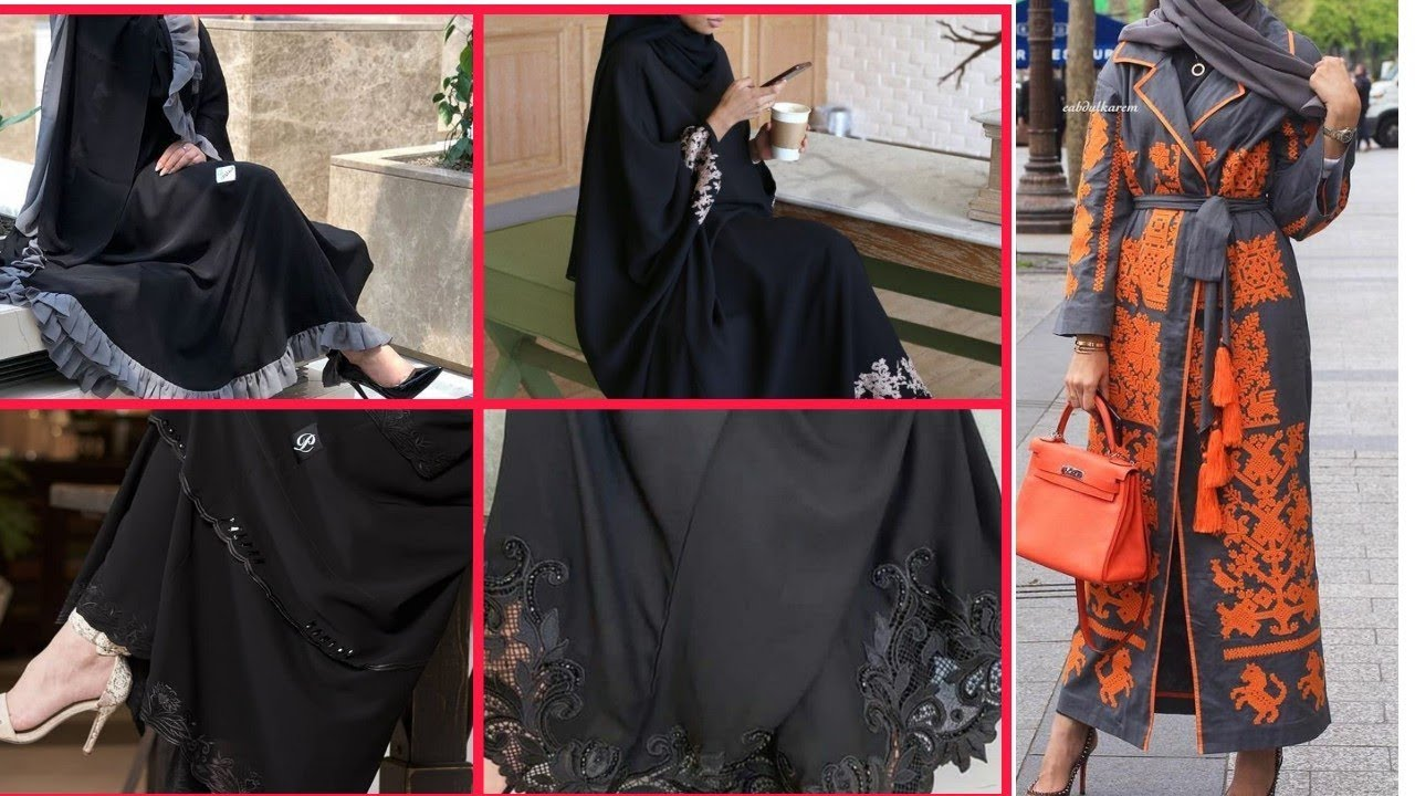 [VIDEO] - Fashionable long Abaya/Burka/Hijab Ideas Collection #long#abaya#burka#hijab 7