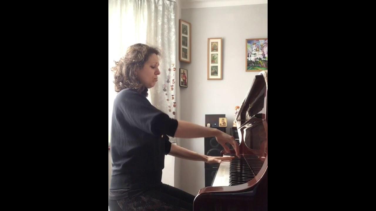Lockdown Pianist Alphabet - U
