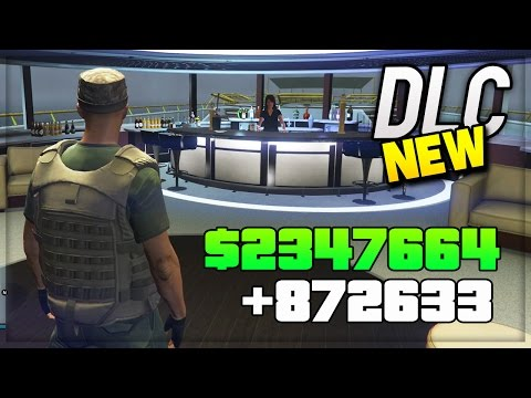 GTA 5 DLC UPDATE - NEW DLC MANSIONS, YACHTS, CLOTHES, APARTMENTS, CARS ! (GTA 5 DLC GAMEPLAY)