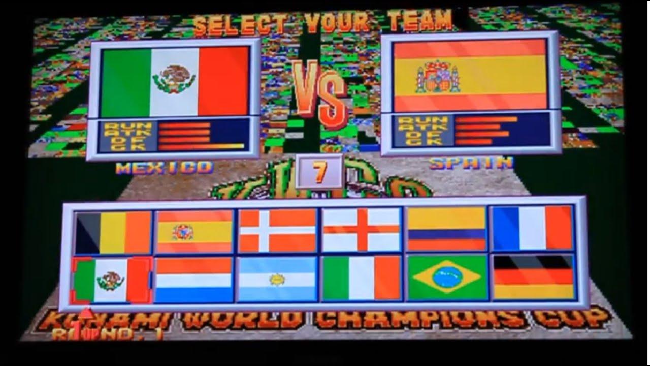 Soccer Superstars Arcade Long Play 1cc Hardest Youtube