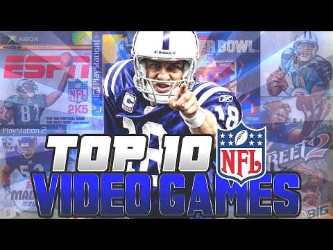 Top 10 Football Video Games of All-Time!