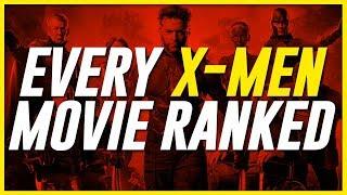 Definitive X-Men Cinematic Universe Ranking