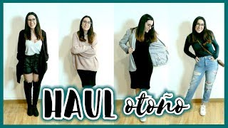 HAUL TRY-ON de OTOÑO + Ideas de Outfits / LOOKBOOK: ZARA, H&M, STRADIVARIUS | Christine Hug