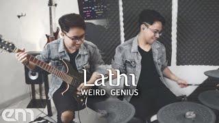Weird Genius - Lathi ft. Sara Fajira | Guitar & Drum Cover by Erza Mallenthinno