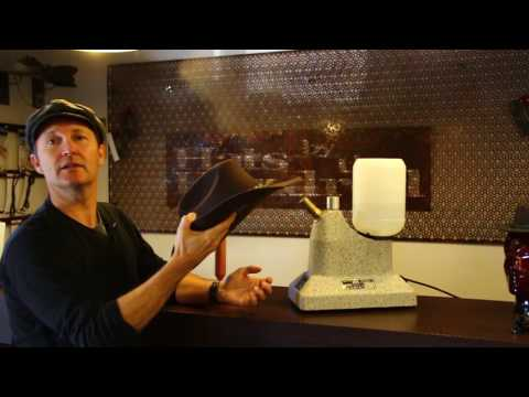 How to re shape an Akubra- Tutorial By Hats By The Hundred