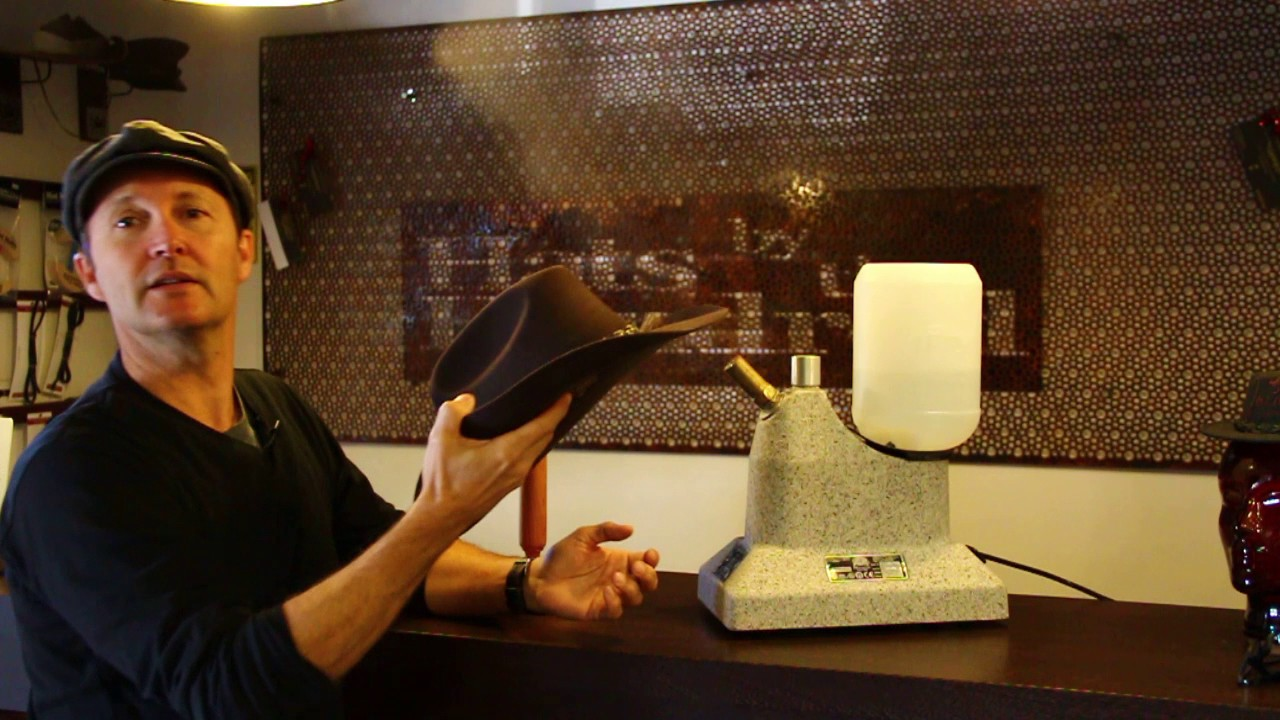How To Re Shape An Akubra Tutorial By Hats By The Hundred Youtube