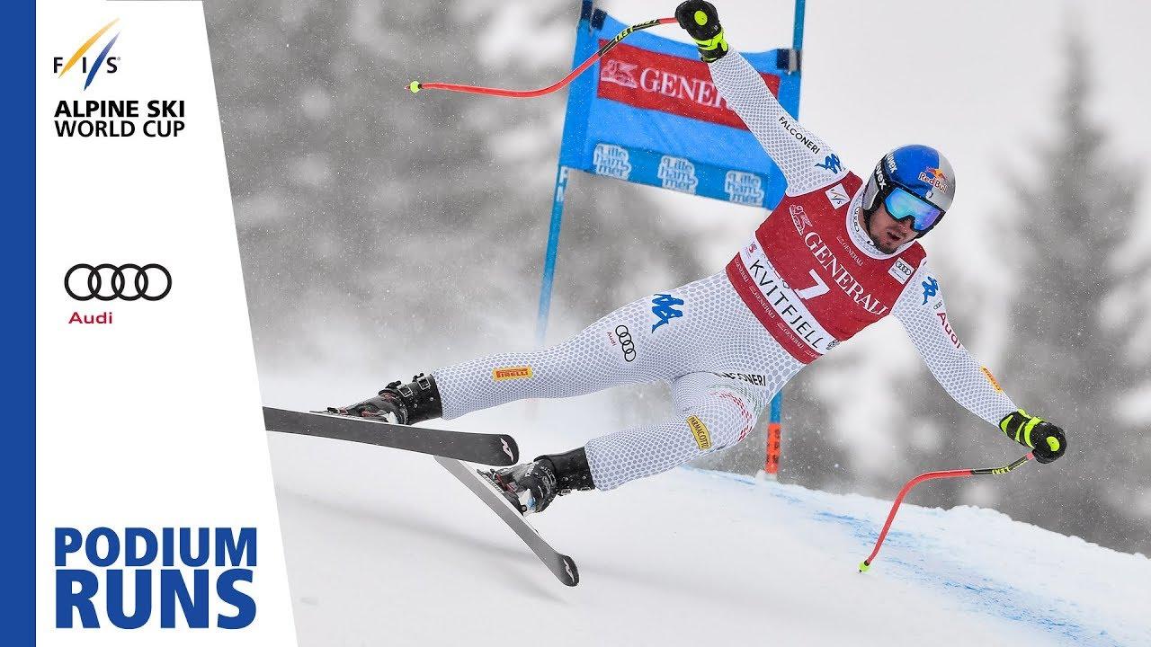 énorme réduction 761c5 33c8d Dominik Paris | Men's SuperG | Kvitfjell | 1st place | FIS Alpine