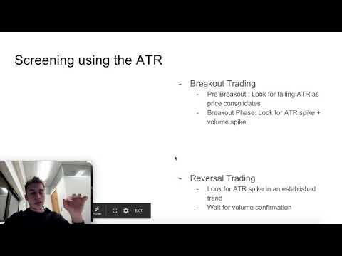 Using the ATR to find Trading Opportunities