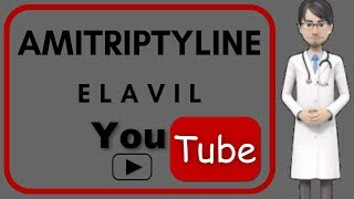 💊AMITRIPTYLINE (ELAVIL): Review pharmacology, Side effects, mechanism of action, for migraine 💊