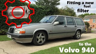 Volvo 940 Fuel Filter Replacement - YouTube | Volvo 940 Fuel Filter Location |  | YouTube
