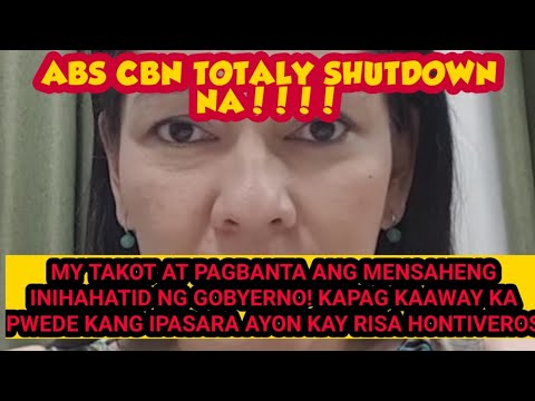 NON RENEWAL OF ABS CBN FRANCHISE | LISA HONTIVEROS STATEMENT SANG AYON BA KAYO?