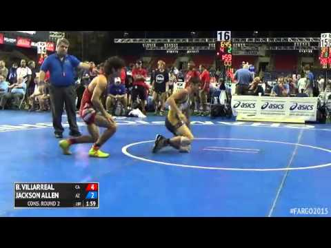 126 Cons. Round 2 - Jackson Allen (Arizona) vs. Brett Villarreal (California)