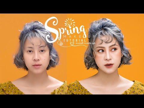 Hướng dẫn trang điểm mùa Xuân 2017 | Spring Makeup Tutorial | Mai Đỗ Make Up