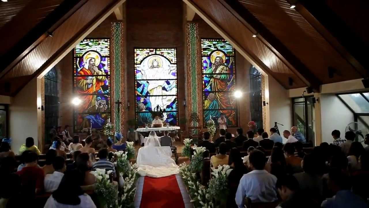 Kjell n Vangie Gaski Caleruega church wedding June 22 2011  YouTube