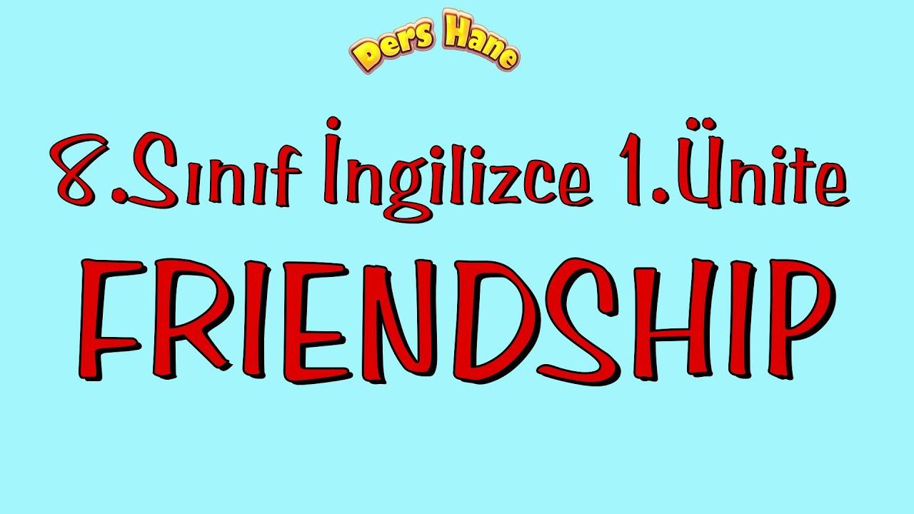 8.Sınıf İngilizce 1.Ünite Konu Anlatımı | Friendship 8.Sınıf LGS