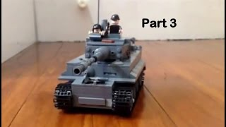 How to make a lego tiger tank pt3