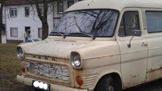 FORD 130 TRANSIT OLDTIMER CLASSIC CAR BUS TRANSPORTER CAMPER old