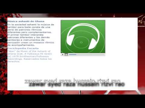 Microsoft Encarta 2007  clips musica del  mundo parte 2