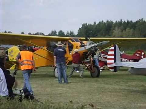 Curtiss Robin beim Flugtag Bad Waldsee 2009