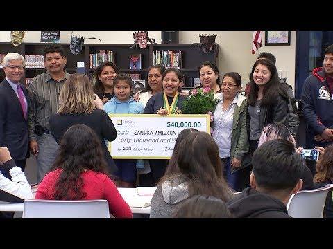 South El Monte High School senior receives $40K STEM scholarship from Edison | ABC7