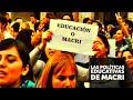 Gabriel Brener: Las políticas educativas de Macri