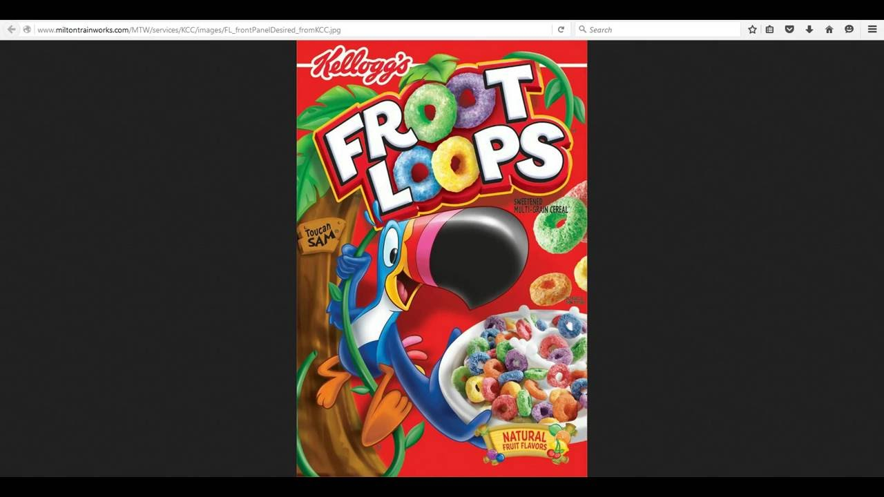 froot loops mandela effect