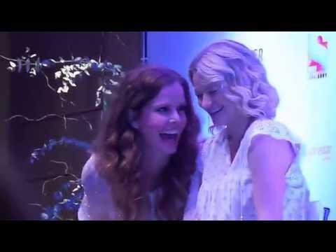 Ever After II   Rebecca Mader & Emilie de Ravin doing each other accent