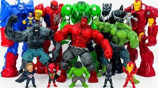 Power Rangers & Marvel Avengers Toys Pretend Play | HULK ARMY RESCUE SUPERHERO FROM MECH ARMOR