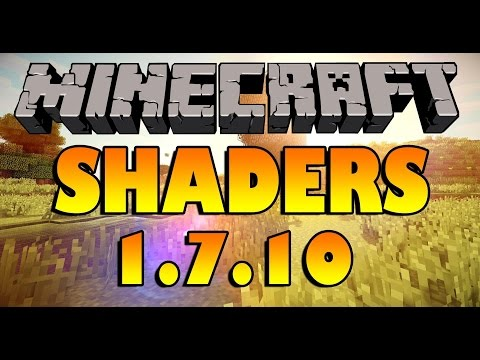 Как установить шейдеры на minecraft? Ответ здесь!