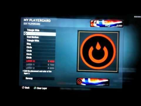Black Ops Emblems The Bleed Team Logo Tutorial