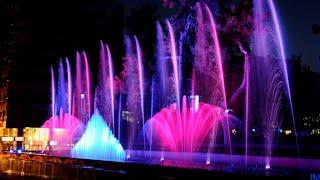 Как работают танцующие фонтаны