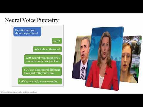Neural Voice Puppetry: Audio-driven Facial Reenactment (ECCV 2020)