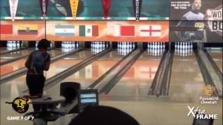 Liz Johnson and Pete Weber Battle for a Berth in the 2014 PBA Cheetah Championship Finals