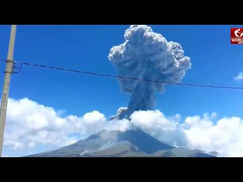 MEXICO NEWS - MEXICO Popocatepetl Volcano Eruption