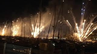 14 juillet 2018 Marseille Vieux Port L'amour et l'humour