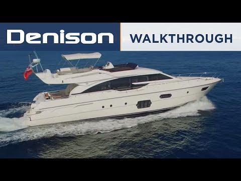Ferretti 69 Yacht Walkthrough
