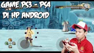 Cara Main Game PS3 / PS4 Di HP Android !