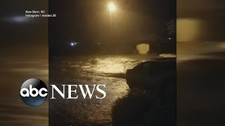 Residents trapped as Hurricane Florence roars ashore