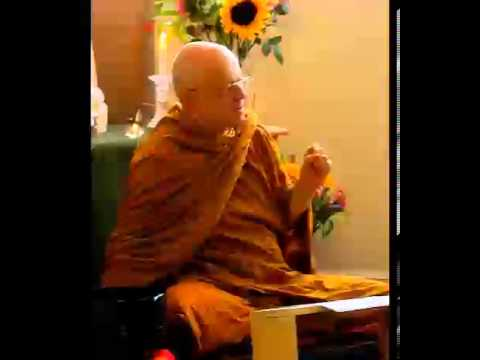 Antidotes for Clinging, Dhamma Talk of Thanissaro Bhikkhu, D