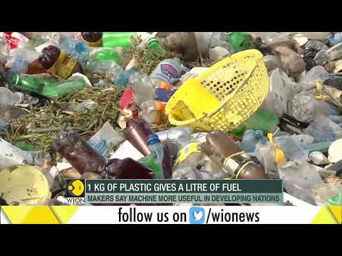 French duo convert plastic waste into fuel