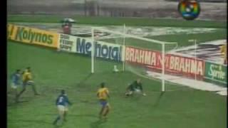 Copa América 1991: Brasil 2x0 Colômbia